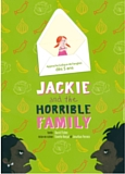 affiche du spectacle pour enfants en anglais Jackie and the Horrible Family