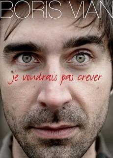 """Affiche du spectacle de Jonathan Perrein, """"Je voudrais pas crever"""""""