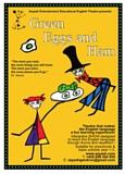 affiche du spectacle pour enfants Green Eggs and Ham