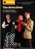 Affiche de la pièce de théâtre en anglais The Detectives