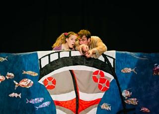 Photo extraite d'une représentation théâtrale de Jackie and the Giant par Koalako