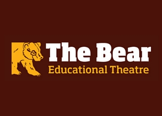 Logo de la compagnie théâtrale The Bear Educational Theatre