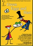 Affiche du spectacle en anglais Green Eggs and Ham