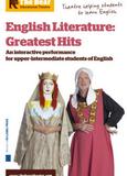 Affiche de la pièce de théâtre English Literature Greatest Hits. La pièce aborde les plus grands textes de la littérature anglaise, avec humour !