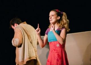 Photo de la pièce de théâtre en anglais pour enfants Jackie and the Giant