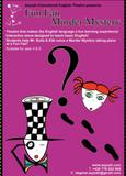Affiche du spectacle Funfair Murder History, pour découvrir l'anglais